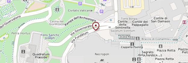 Carte Musei del Vaticano - Rome