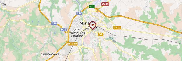 Carte Morlaix (Montroulez) - Bretagne