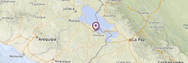 Carte Juli - Pérou