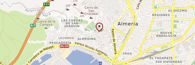 Carte Almería - Andalousie