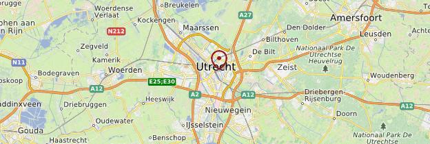 Carte Utrecht - Pays-Bas