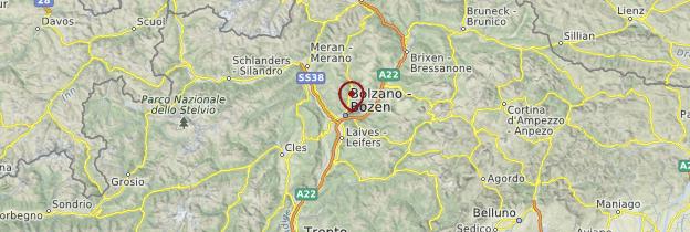 Carte Bolzano - Italie