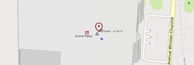 Carte Grand Palais - Paris