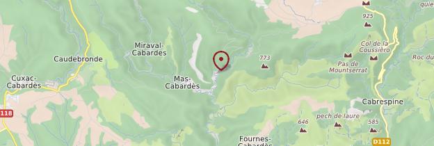 Carte Roquefère - Languedoc-Roussillon