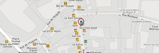 Carte Rue du Taur - Toulouse