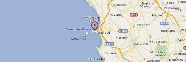 Carte Gallipoli - Italie