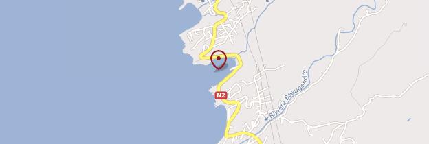 Carte Anse à la Barque - Guadeloupe