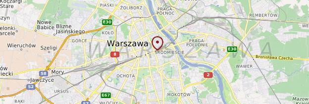Carte Warszawa (Varsovie) - Pologne