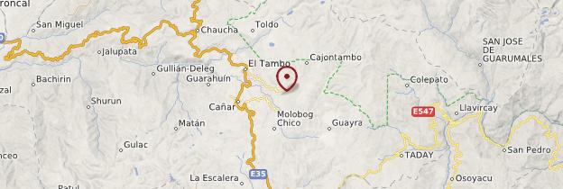 Carte Ingapirca - Équateur