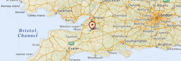 Carte Wells - Angleterre