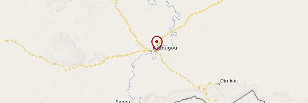Carte Kédougou - Sénégal