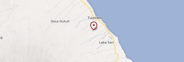 Carte Tulamben - Bali