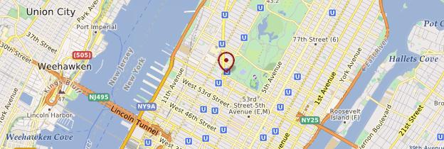 Carte Columbus Circle - New York