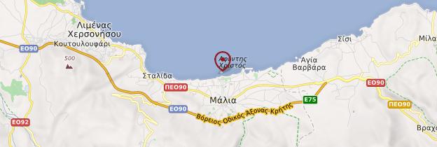 Carte Crete Amoudara.Malia Region D Heraklion Guide Et Photos Crete