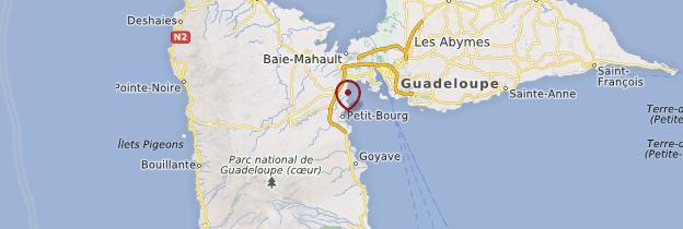Carte Petit-Bourg - Guadeloupe