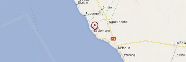 Carte La Somone - Sénégal