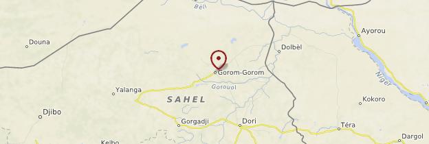 Carte Gorom-Gorom - Burkina Faso