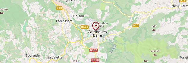 Carte Cambo-les-Bains - Pays basque et Béarn