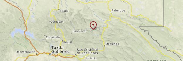 Carte Agua Clara - Mexique