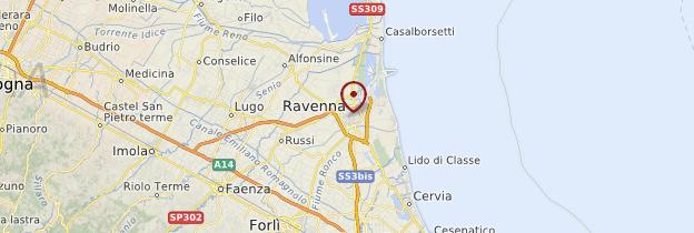 Carte Ravenna (Ravenne) - Italie