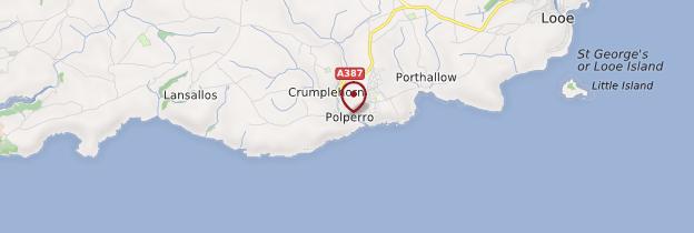 Carte Polperro - Angleterre
