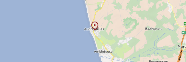 Carte Audresselles - Nord-Pas-de-Calais