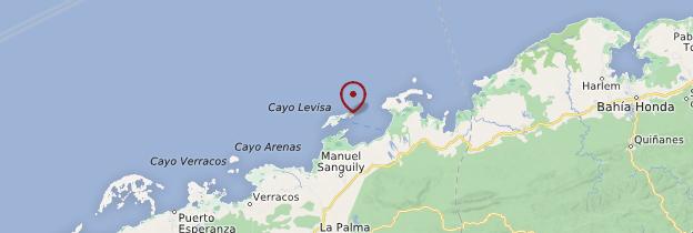 Carte Cayo Levisa - Cuba