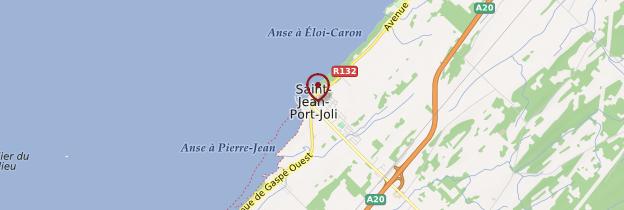 Carte Saint-Jean-Port-Joli - Québec
