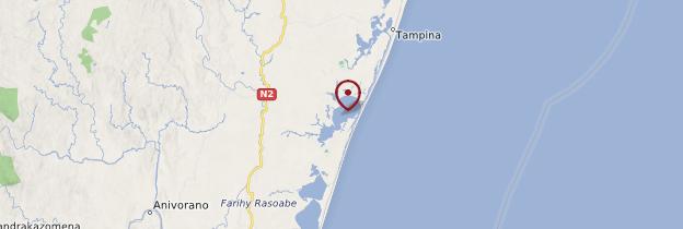 Carte Lac Ampitabe (Ankanin'ny Nofy) - Madagascar