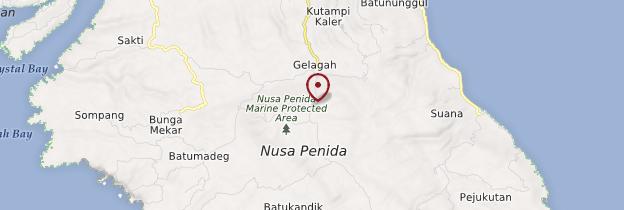 Carte Nusa Penida - Bali