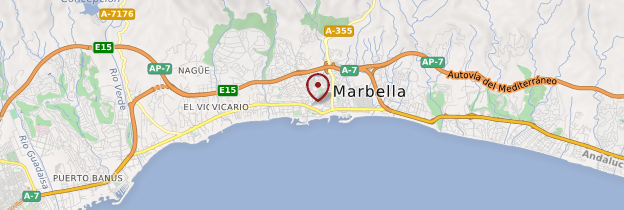 Carte Marbella - Andalousie