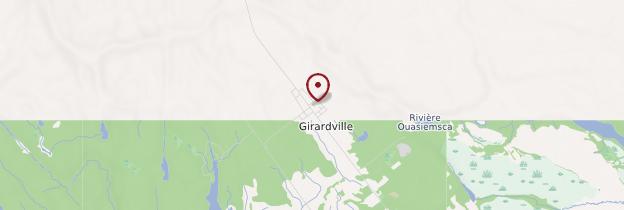 Carte Girardville - Québec