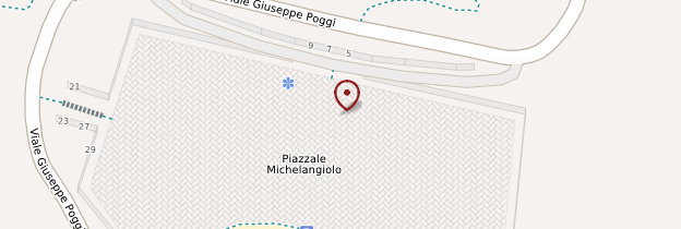 Carte Piazzale Michelangelo - Florence