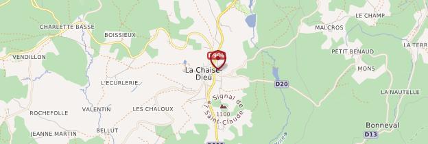Carte La Chaise-Dieu - Auvergne