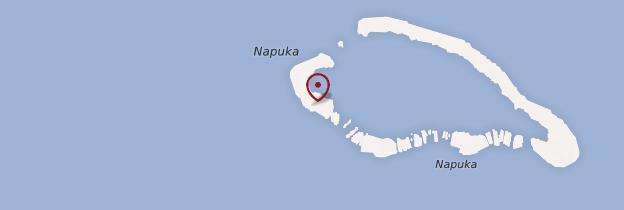 Carte Napuka - Polynésie française