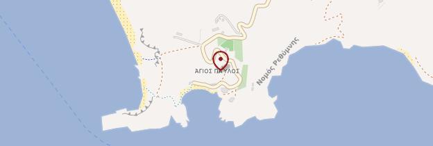 Carte Agios Pavlos - Crète