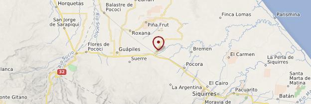 Carte Guàcimo - Costa Rica