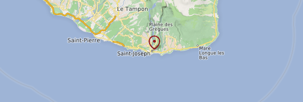 Carte Saint-Joseph - Réunion