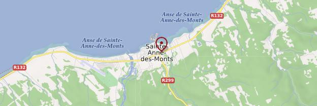 Carte Sainte-Anne-des-Monts - Québec