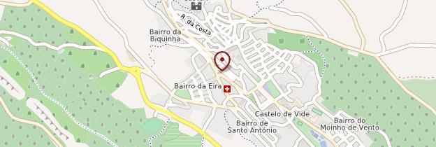 Carte Castelo de Vide - Portugal
