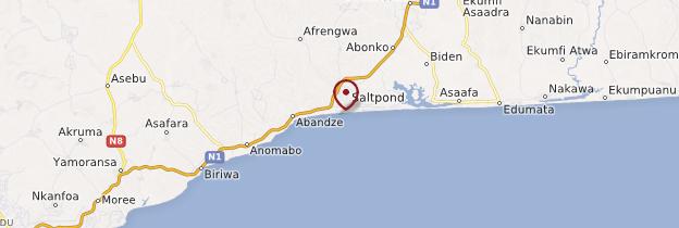 Carte Saltpond - Ghana