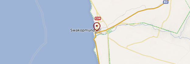 Carte Swakopmund - Namibie