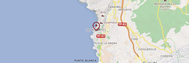 Carte Los Gigantes - Tenerife