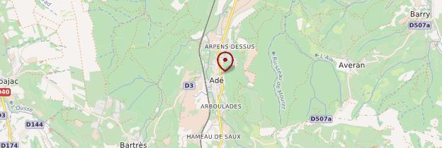 Carte Adé - Midi toulousain - Occitanie