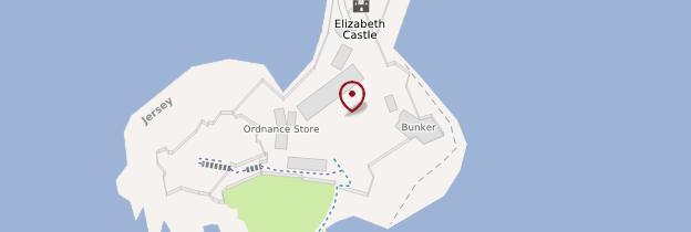 Carte Elizabeth Castle - Îles Anglo-Normandes