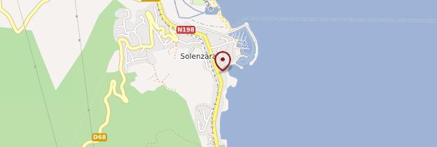 Carte Solenzara - Corse