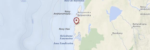 Carte Andavadoaka - Madagascar