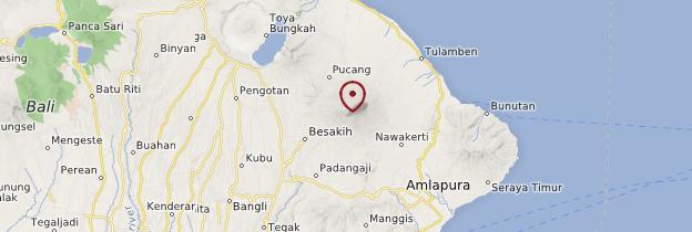 Carte Gunung Agung - Bali
