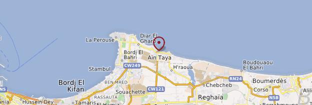 Carte Aïn Taya - Algérie