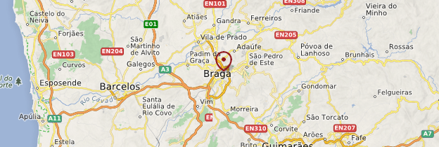 Carte Braga - Portugal